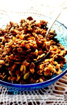 Pepita Sunflower Seed Savory Granola from OATrageous Oatmeals