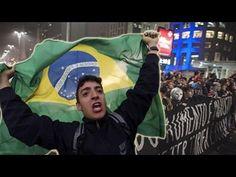 Como a TV chinesa explica os protestos no Brasil