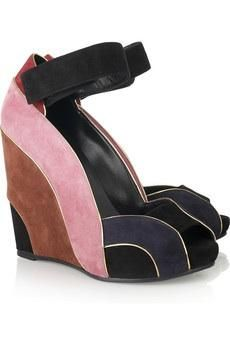 Colorful Wedges