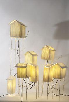 Sculptures lumineuses * Papier à êtres, poésies à sculptées