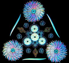 Contemporary Artistic Arrangements of Microscopic Diatoms by Klaus Kemp  http://www.thisiscolossal.com/2014/09/diatomist/