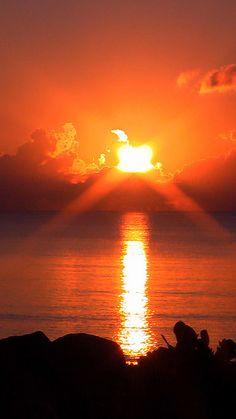 Sunrise at Mission Beach, Australia