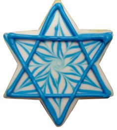 Star of David cookie by Dessert Gallery Houston, via Flickr