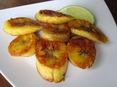 Skinny Sweet Plantains - The Fit Cook - Healthy Recipes - Skinny Recipes