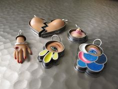 Jewelry Made From Barbie Doll Parts....not sure if this is too weird or just weird enough....