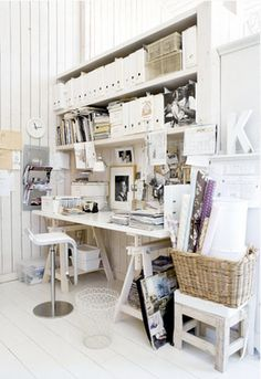 above desk storage