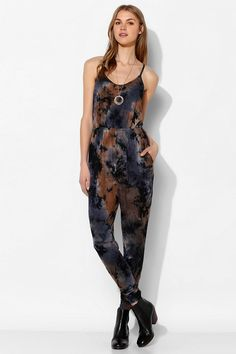 Staring At Stars Tie-Dye Harem Jumpsuit #urbanoutfitters