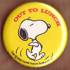 Snoopy Out to Lunch