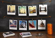turn your photos into polaroids at polaroidfotobar.com
