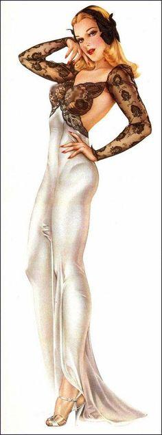 This would make a good tattoo: Vargas Pin-up Girl