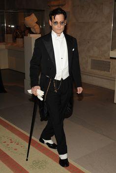 Johnny Depp in Ralph Lauren Purple Label