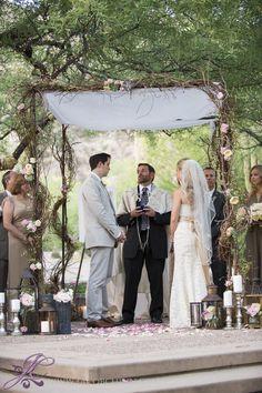 Photography: Jacob Chinn - www.jacobchinn.com  Read More: http://www.stylemepretty.com/2014/01/21/jewish-loews-ventana-canyon-wedding/