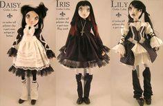 #Gothic Lolita Dolls by Beth Robinson