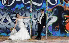 Ottawa Wedding Photographer /Graffiti Wall Wedding