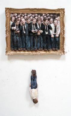 Isaac Cordal #isaaccordal #streetart @ www.Streetart.nl