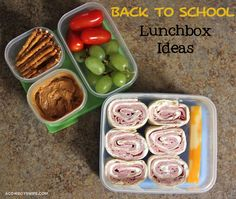 Back to School lunchbox food ideas at mywoodenspoon.com #backtoschool #lunchbox