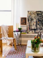 Small+Space+Design+Tips+From+NYC+Pros+#refinery29