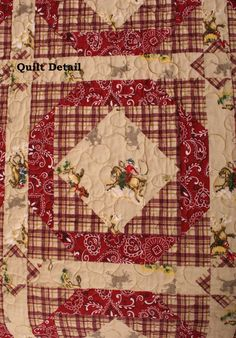 Cowboy Quilting Fabric | Beautiful Quilt Fabric Online