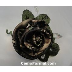 He wants orange (eww), but maybe I can talk him into these with black jackets and camo vests. :) idea, realtre camo, fabric flowers, stuff, dream, camo boutonnier, realtre apg, countri, boutonnieres