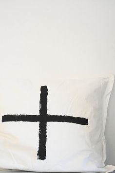DIY Inspiration - Painted Pillows