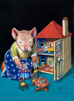 This could've been your place..lol   A Mouse's Dolls House by Philip Mendoza