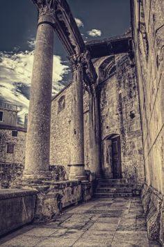 Split, Croatia  http://www.travelandtransitions.com/our-travel-blog/dalmatia-2012/