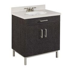 singl sink, half baths, lakehous bathroom, bathroom vanities, sink bathroom, bath vanities, downstair bathroom, bathroom remodel, 30in