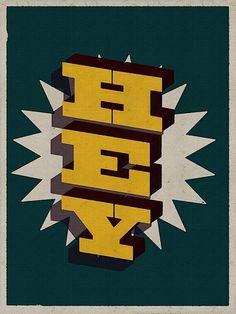 Typography Mania #125 | Abduzeedo | Graphic Design Inspiration and Photoshop Tutorials