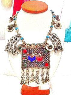 SALE  KUCHI NECKLACE  belly dance necklace gypsy by Nezihe1