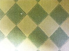 This is a wool carpet remnant with a diamond pattern. We recently added this to our inventory. For more information, please visit our website. http://www.carpetworkroom.com