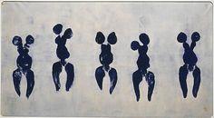 Yves Klein, Anthropométries