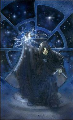 Star Wars - Emperor Palpatine by Terese Nielsen star wars art, starwar