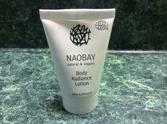 Naobay Body Radiance Lotion 1 oz. x 2