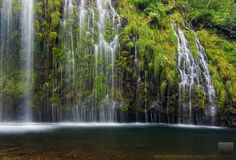 Wonderwall - Mossbrae Falls, Dunsmuir, California by david.richter, via Flickr