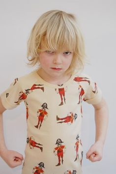 Mini Rodini Tee Rib Raglan Pirate.