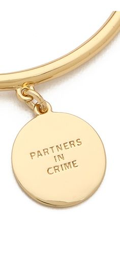 'Partners in Crime' bangle http://rstyle.me/n/pbzt2n2bn