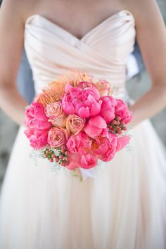 Beach Chic Wedding Anniversary from Nicole Alexandra Designs. To see more: http://www.modwedding.com/2014/09/08/beach-chic-wedding-anniversary-nicole-alexandra-designs/ #wedding #weddings #bridal_bouquet