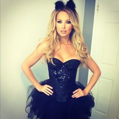 So cute for Halloween, but the dress would be perfect all year around! <3