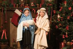 Kid-Friendly Nativity Scripts #Mormon