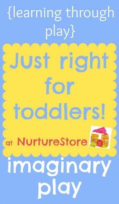 activities for toddlers imaginary play - 2 - 3 year olds