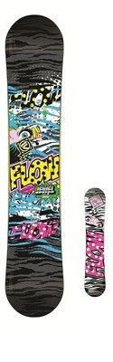 Flow Jewel 146 Womens Rocker Freestyle Park Snowboard