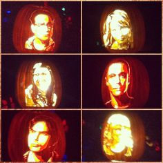 Big Bang Theory Jack O'Lanterns