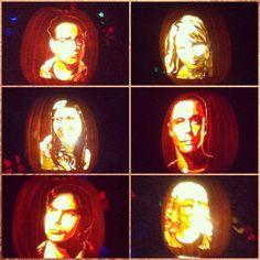 Big Bang Theory Jack O'Lanterns