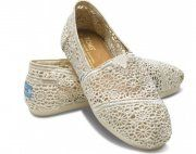 Toms Womens Crochet shoes Beige