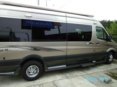 I love the color of this class B motorhome.  Roadtreks are the #1 selling class B motorhome.