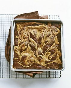 Peanut-Butter Swirl Brownies Recipe