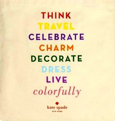 LIVE COLORFULLY   #decor #quotes