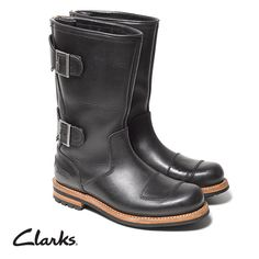 Clarks Autumn/Winter 2014 Collection | Sneak Peek | shoes | moto boots | biker boots | Norton