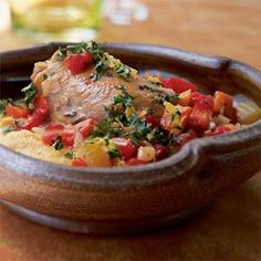 Osso Buco-Style Chicken Thighs | MyRecipes.com