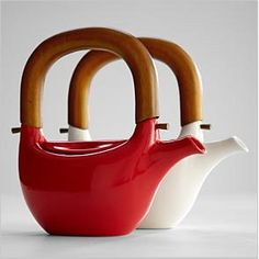 "We're giving away this beautiful Ceramic Teapot for #MothersDay just for ""hanging"" out with us on Google+! See more of our fabulous gifts we're giving away: http://blog.gifts.com/giveaways/google-hangout-chat-win-for-mom-2 red envelop, ceramic teapots, ceram pot, gift, ceram teapot, wooden handl, tea pot, teas, ceramics"